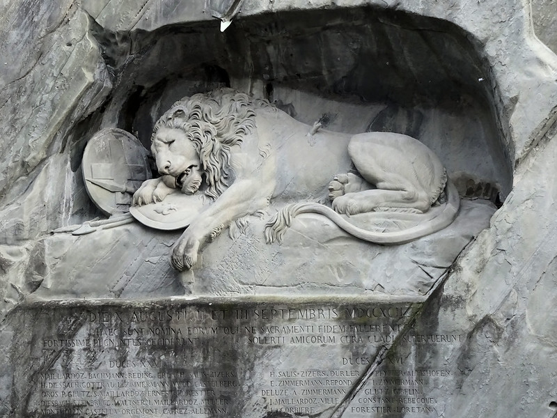 Le lion de Lucerne