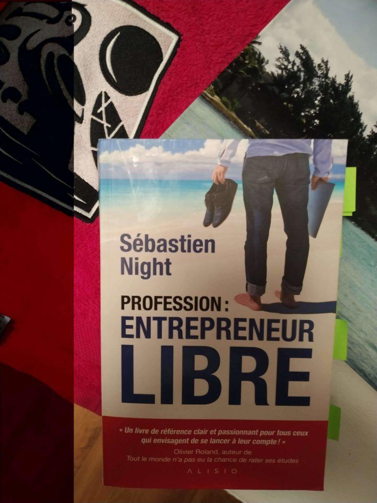 Couverture Profession - Entrepreneur Libre