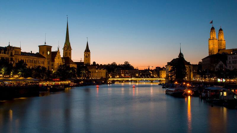 La Limmat à Zurich