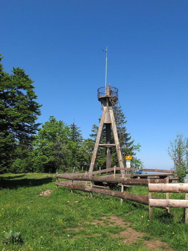 Tour militaire du Mont Raimeux