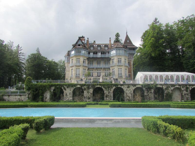 Séjour au château des Avenières
