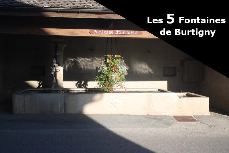 La fontaine Pourtalès à Burtigny