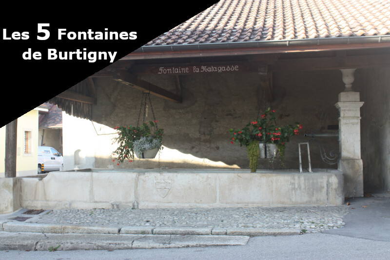 La fontaine la Matagasse à Burtigny