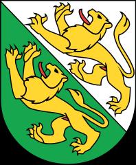 Le blason du canton de Thurgovie