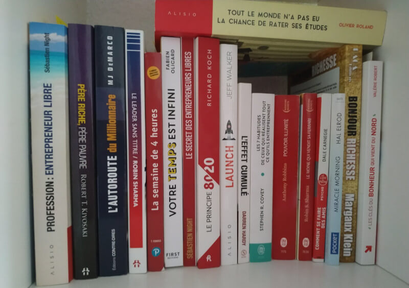 Banner - Photo de livres