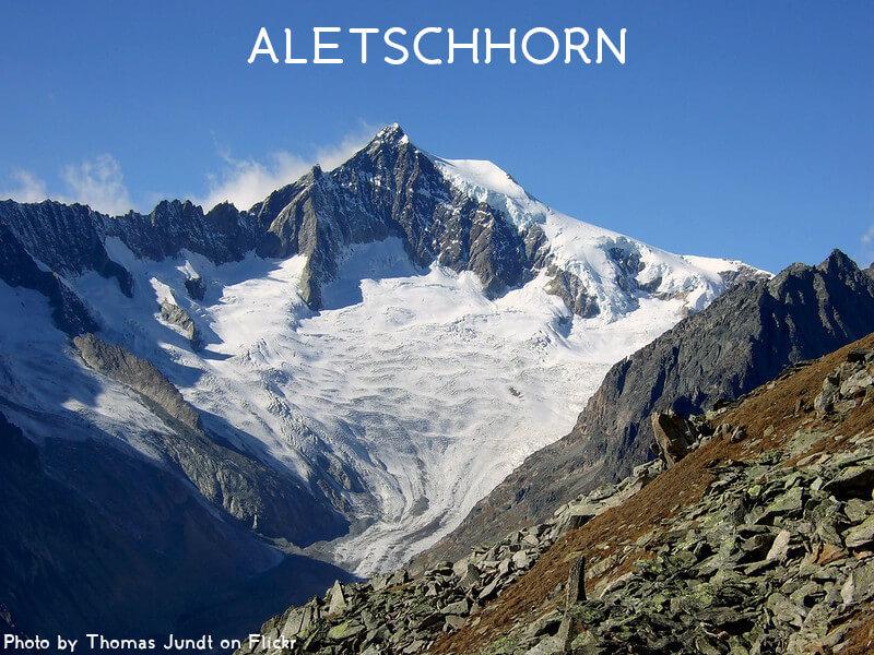 Vignette - L'Aletschhorn