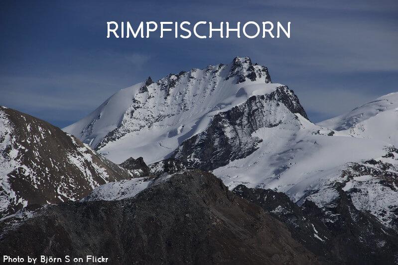 Vignette - Le Rimpfischhorn