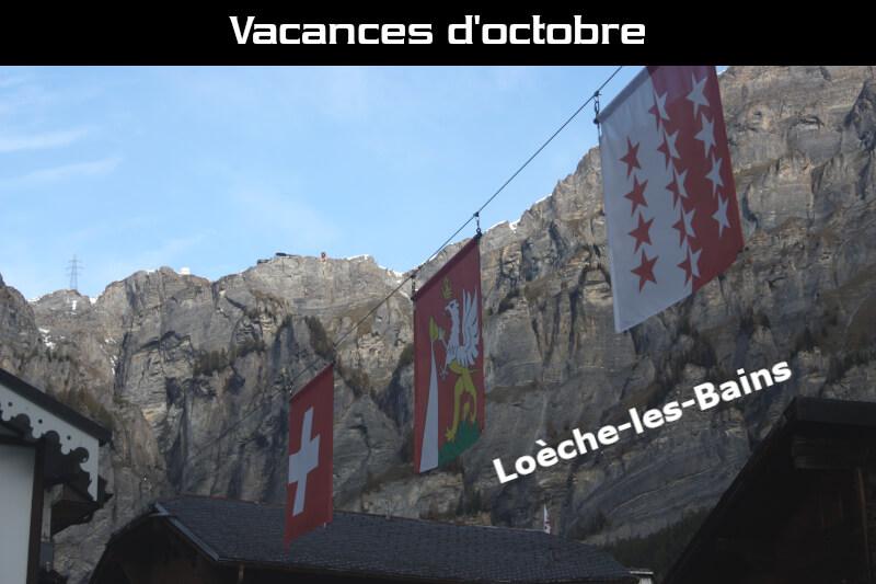 Vignette - Nos vacances d'octobre à Loèche-les-Bains
