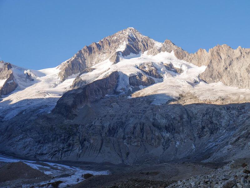 Vue de l'Aletschhorn (photo de M M sur Flickr)