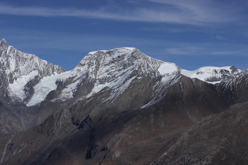 La colline des Alpes - l'Alphubel