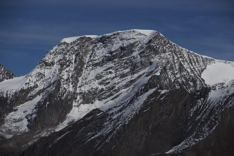 Le sommet de l'Alphubel