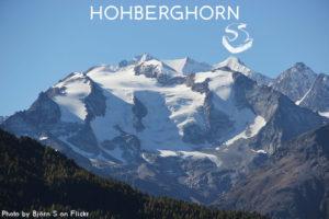 15ème sommet de plus de 4'000 mètres – L'Hohberghorn
