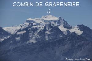 10ème sommet de plus de 4'000 mètres – Le Combin de Grafeneire