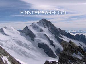 12ème sommet de plus de 4'000 mètres – Le Finsteraarhorn