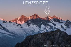 11ème sommet de plus de 4'000 mètres – Le Lenzspitze