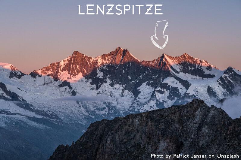 Vignette - Le Lenzspitze
