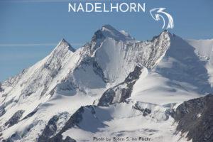 9ème sommet de plus de 4'000 mètres – Le Nadelhorn