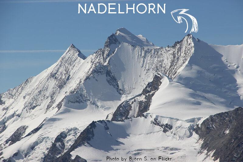 Vignette - Le Nadelhorn