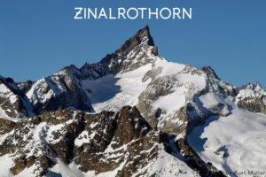 14ème sommet de plus de 4'000 mètres – Le Zinalrothorn