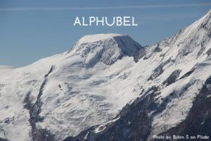 16ème sommet de plus de 4'000 mètres – L'Alphubel