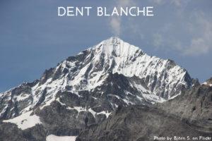 8ème sommet de plus de 4'000 mètres – La Dent Blanche